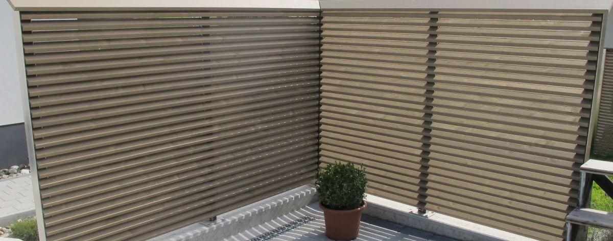 Fabulous Sicht- & Lärmschutzwände, Schallschutzwände - www.sichtschutz MS85