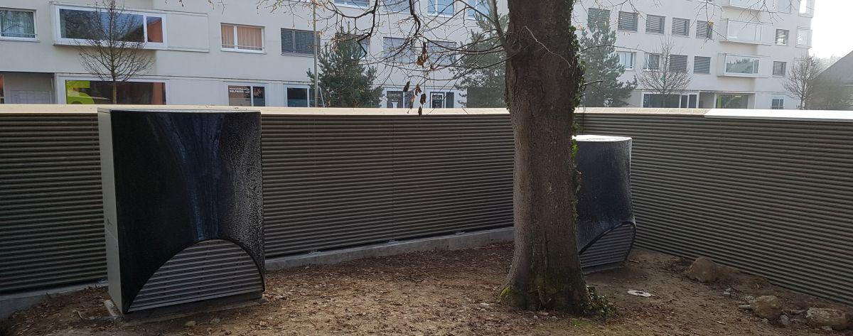 Bekannt Sicht- & Lärmschutzwände, Schallschutzwände - www.sichtschutz LE22